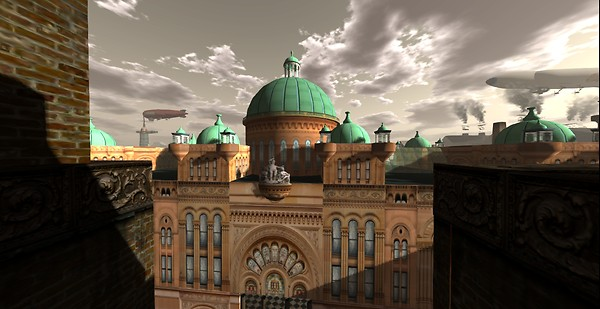 Cooger & Darks Wax Museum Dome view 1