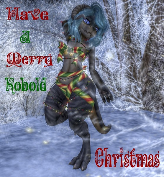 Have a merry kobold Christmas