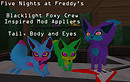 Blacklight Foxy Crew!
