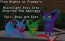 Blacklight Foxy Crew!