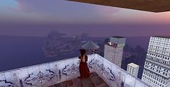 Connie's balcony