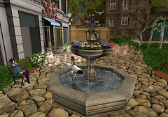 fountain_with_flowers