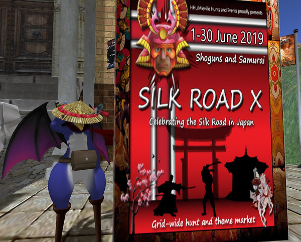 SILK ROAD HUNT X needs you!