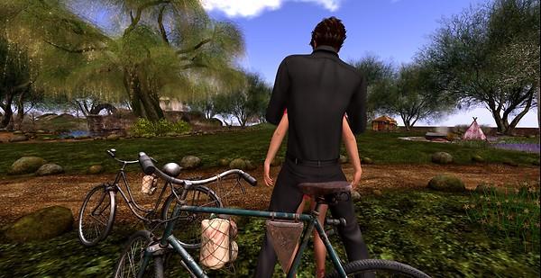 bike ride rest