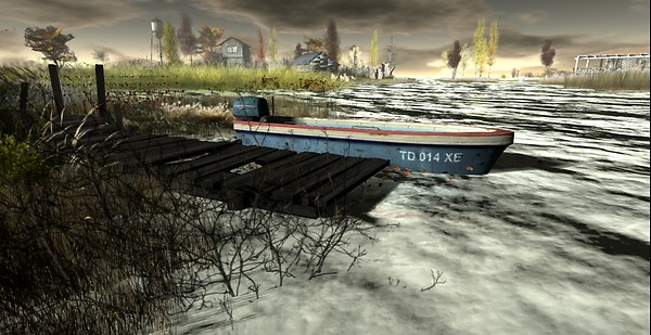 Tranquil Bay - Autumn Trace_dock