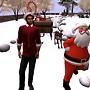 Happy Santa and Elf-Dean