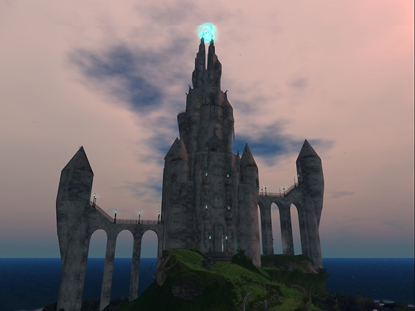 Anon castle - Second Life