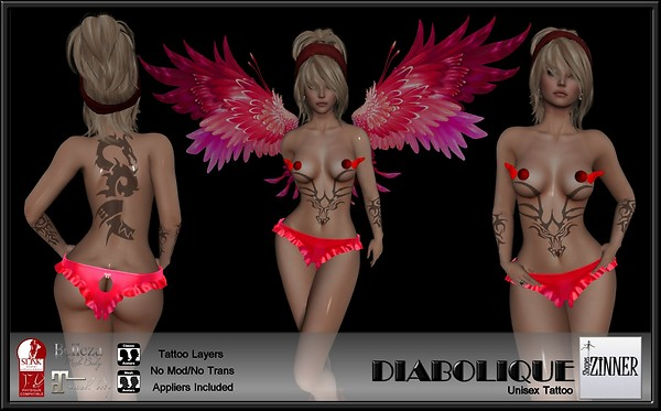 Zinner Shapes & Gallery - Diabolique Tattoo