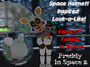 Space FNAF Helmet