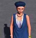 Blue beret 1
