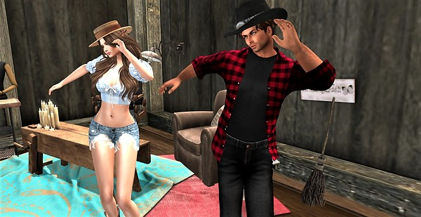Daisy & Duke dance