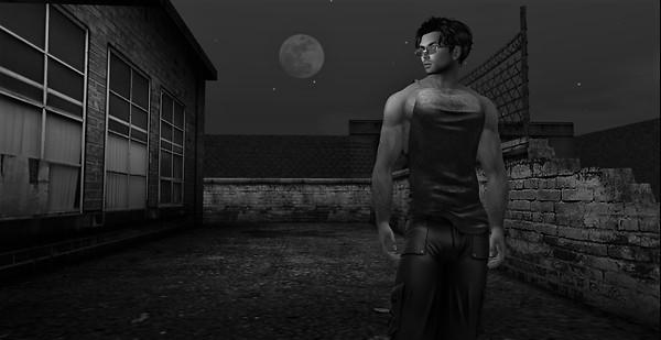 shoulder moon