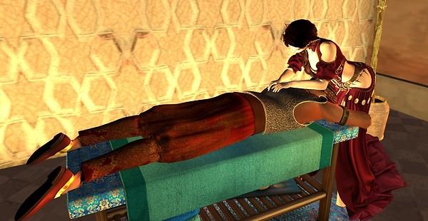 Sultan's Tent 5 His Massage