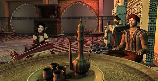 Sultan's Tent 4 Teatime