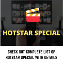 Hotstar subscription plans and deals