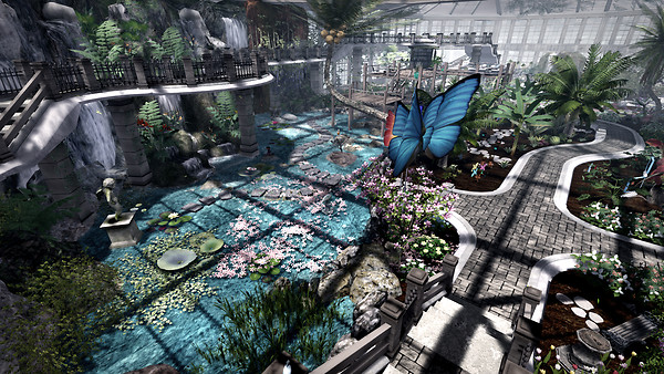 MERGE CLUB and Butterfly Conservatory