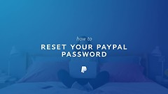 How do I reset my PayPal password?