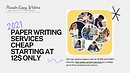 Private Essay Writers for media