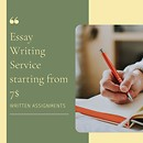 Written Assignments|Essay Writing Service starting from 7$