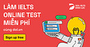 IELTS Online Test @ dol.vn   Học IELTS Tư Duy - Nội dung Free - Chất lượng Premium